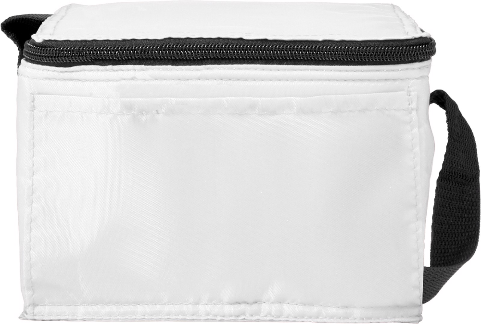 Polyester (210D) cooler bag - White