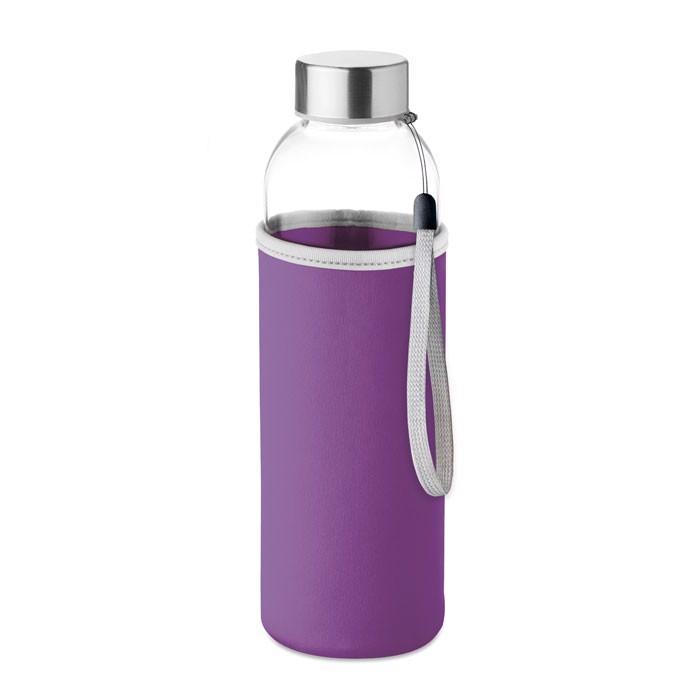 Skleněná láhev 500 ml Utah Glass - violet