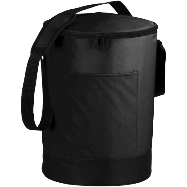Bucco barrel cooler bag - Solid black / Solid black