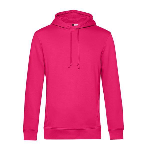 Organic Hooded - Magenta Pink / S