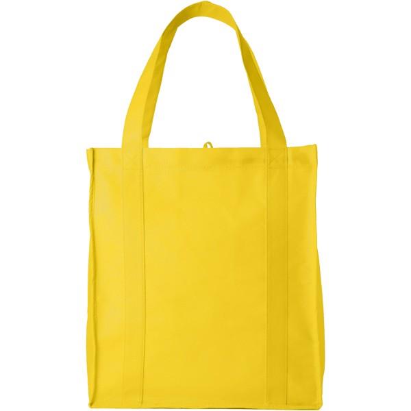 Liberty bottom board non-woven tote bag - Yellow