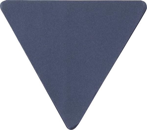 Paper sticky note holder - Blue