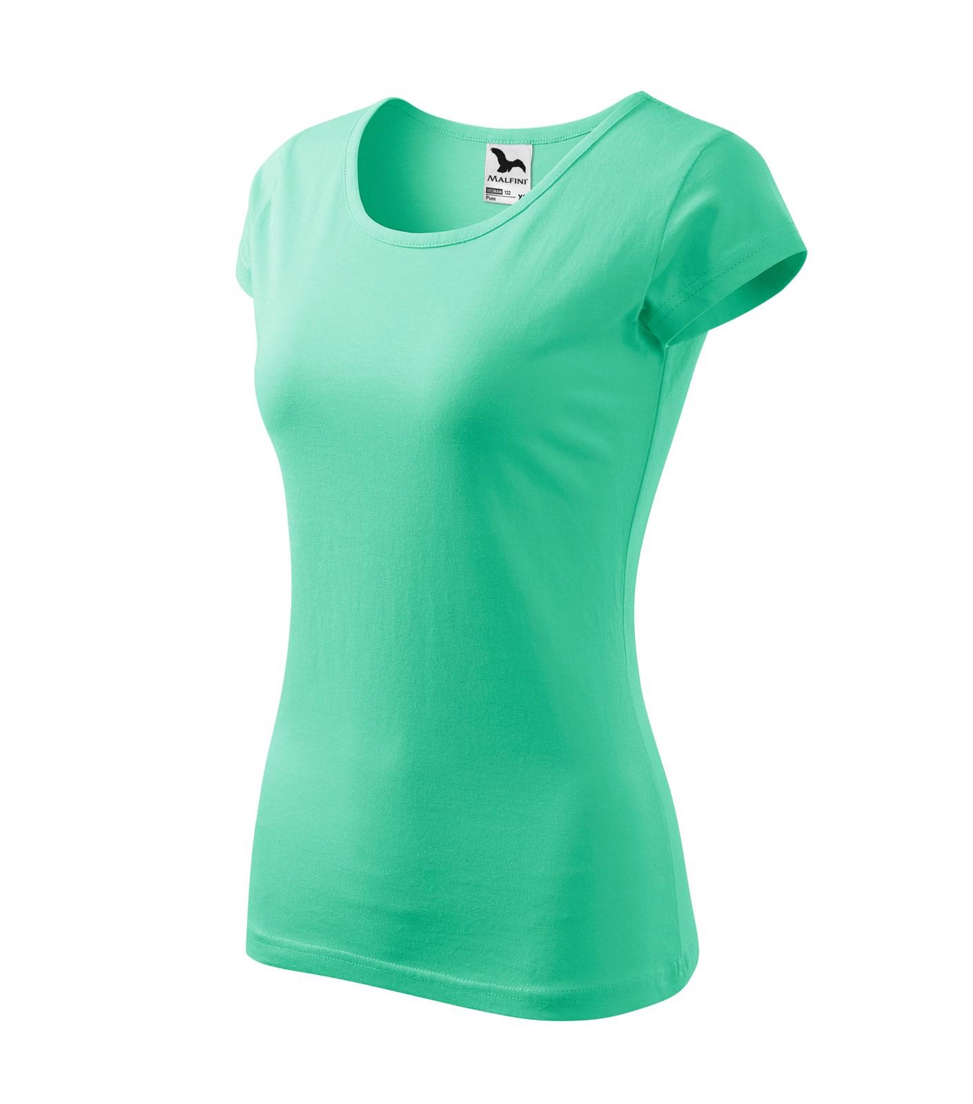 T-shirt women's Malfini Pure - Mint / L