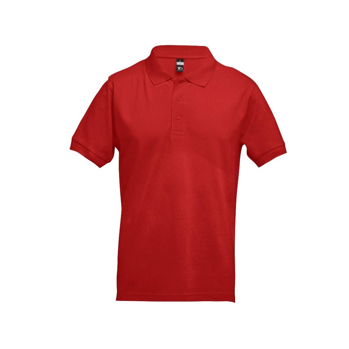 ADAM. Men's polo shirt - Red / XL