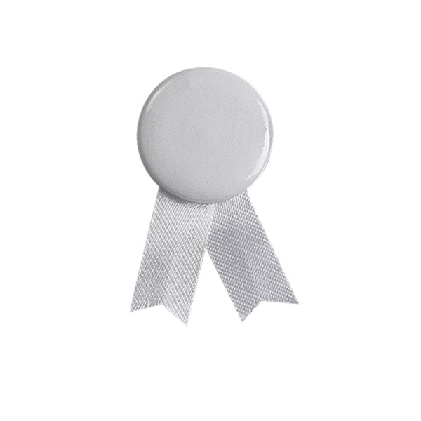 Pin Loop Solidario - White