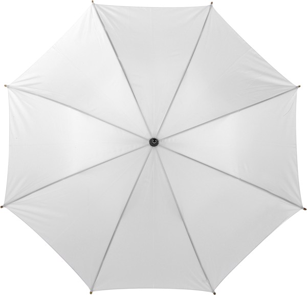 Polyester (190T) umbrella - White