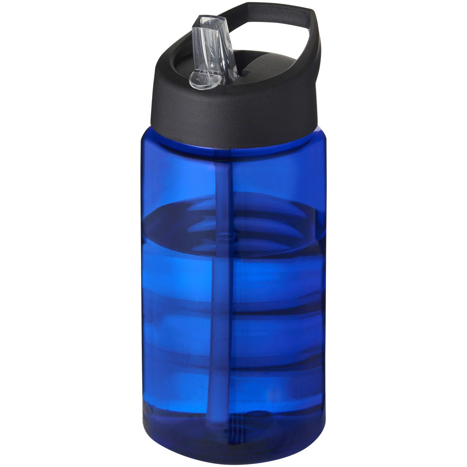 H2O Bop 500 ml Sportflasche mit Ausgussdeckel - Blau