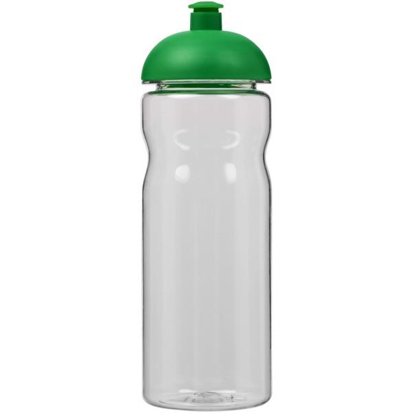 Sportovní láhev s kupolovitým víčkem Base Tritan™ 650 ml - Průhledná / Zelená
