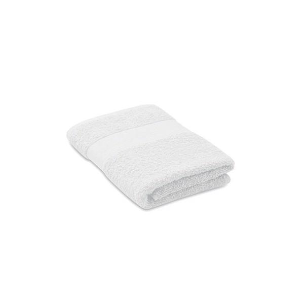 Towel organic cotton 100x50cm Terry - White