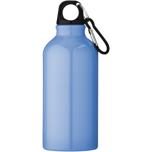 Oregon 400 ml sport bottle with carabiner - Light blue