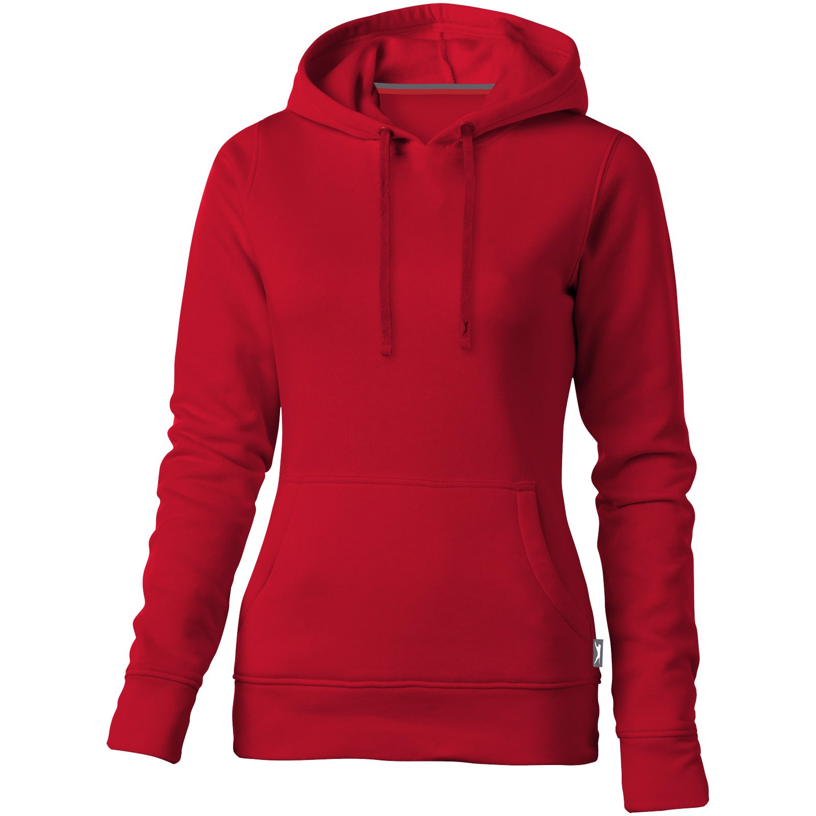 Alley hooded ladies sweater - Red / S