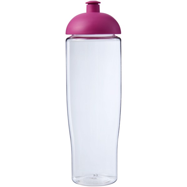 H2O Tempo® Bidón deportivo con Tapa Dome de 700 ml - Transparente / Rosa