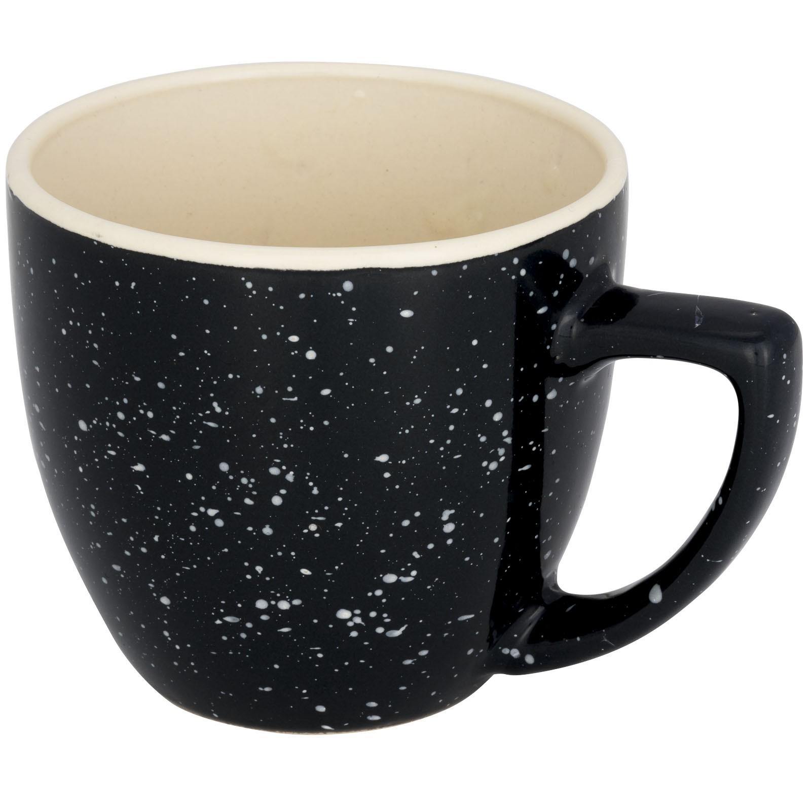 Sussix 325 ml speckled ceramic mug - Grey