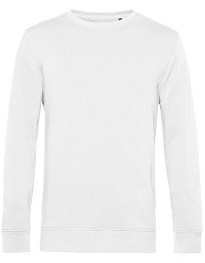 Organic Crew Neck Sweat - White / L