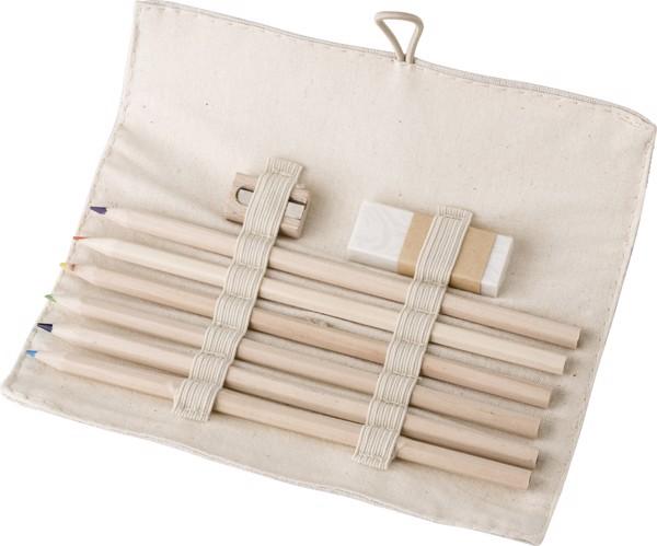 Linen drawing set