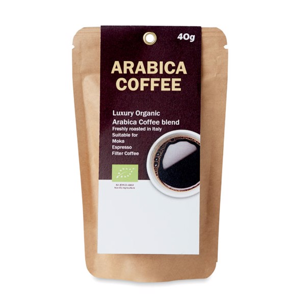 Bio-Arabica Kaffeepulver 40g Arabica 40