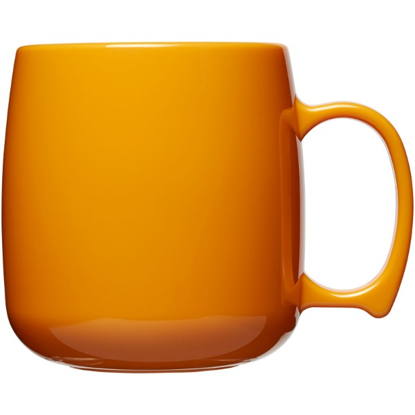 Classic 300 ml plastic mug - Orange