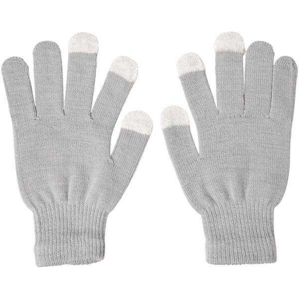 Hmatové rukavice Billy - Větle šedá