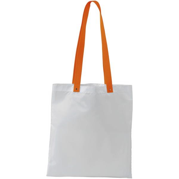 Polyesterová taška Uto - Bílá / 0ranžová