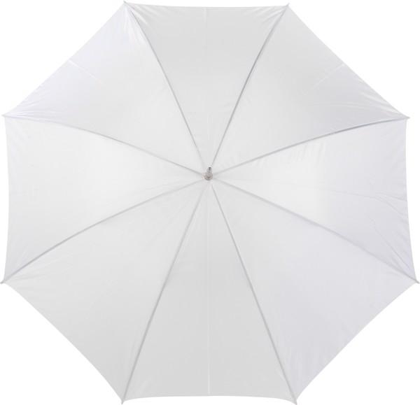 Portierschirm 'Harry' aus Polyester - White