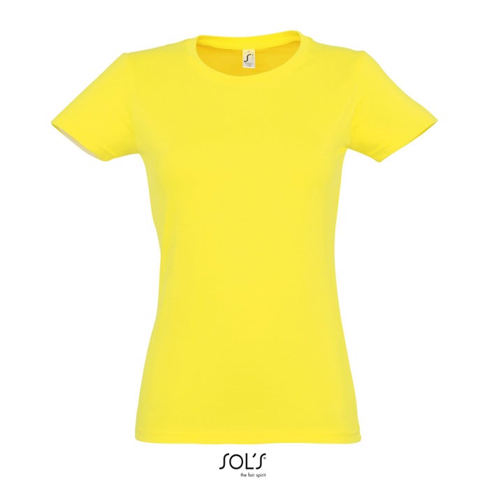 IMPERIAL CAMISETA MUJER190g Imperial Women - limón / L