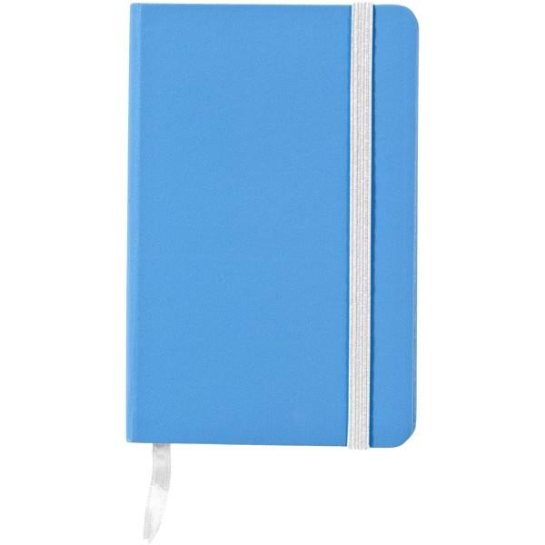 Kapesní poznámkový blok Classic A6 s pevnou obálkou - Světle modrá