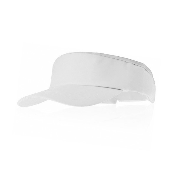 Sun Visor Tiger - White