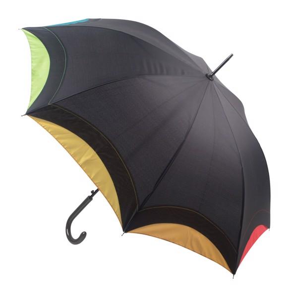 Deštník Arcus - Černá / Vícebarevná