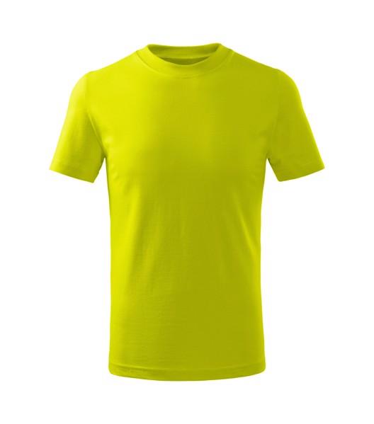 Tričko dětské Malfini Basic Free - Limetková / 146 cm/10 let
