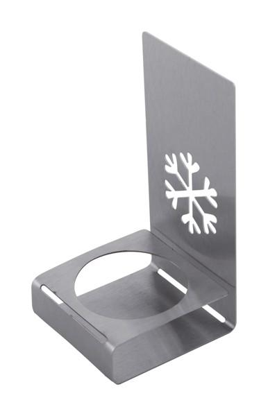 Candle Holder Tylldalen, Snowflake - Silver