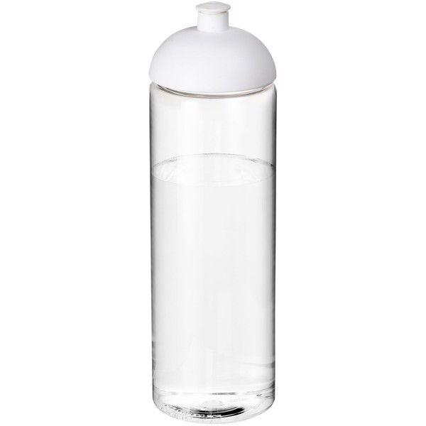 H2O Vibe 850 ml dome lid sport bottle - Transparent / White