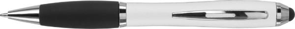 Kugelschreiber 'Bristol' aus Kunststoff - White