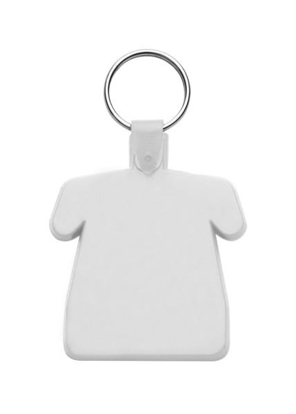 Keyring Polo - White