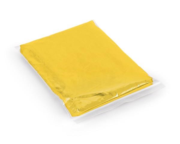 SANDRA. Αδιάβροχο πόντσο - Κίτρινο