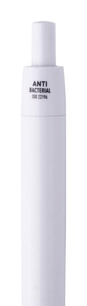 Anti-Bacterial Pen Leopard Clean - White