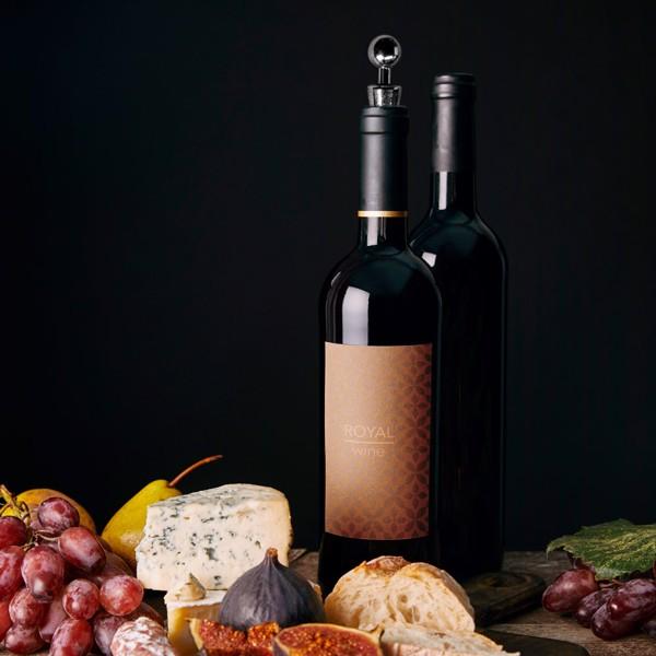 BARREL. Wine set