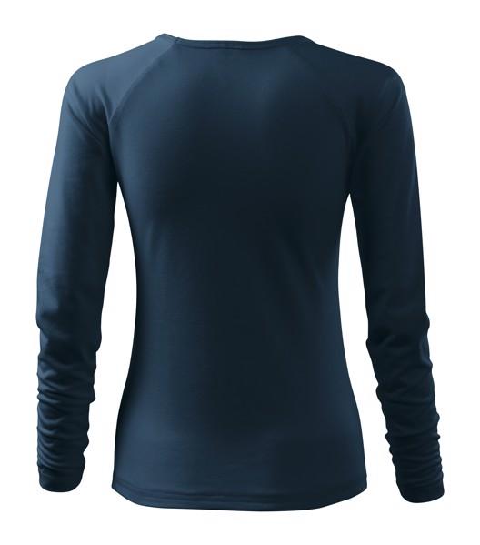 T-shirt women's Malfini Elegance - Navy Blue / M