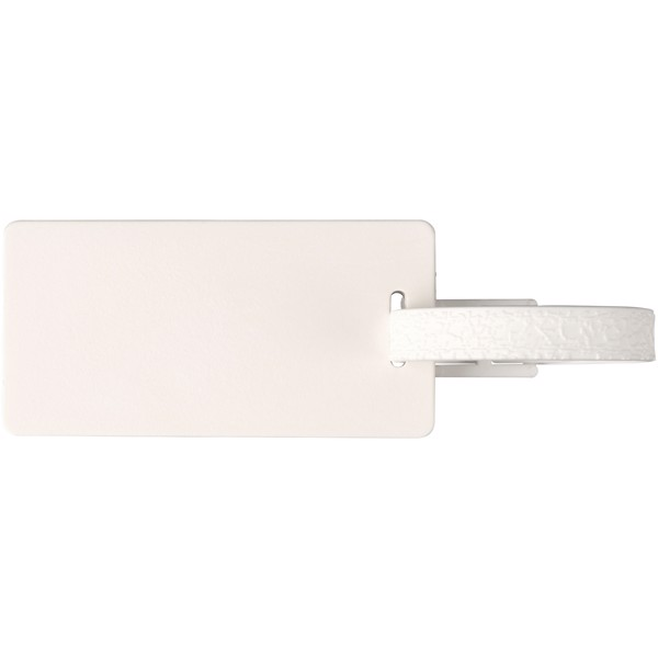 River window luggage tag - White