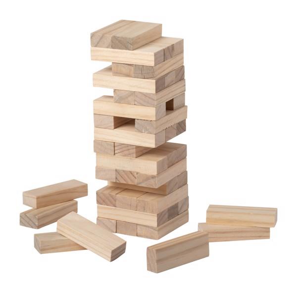 Dřevěná Stavebnice - Věž Sabix - Přírodní