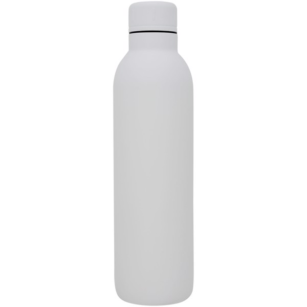 Thor 510 ml copper vacuum insulated sport bottle - White