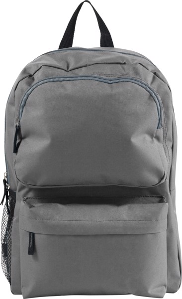 Polyester (600D) backpack - Grey