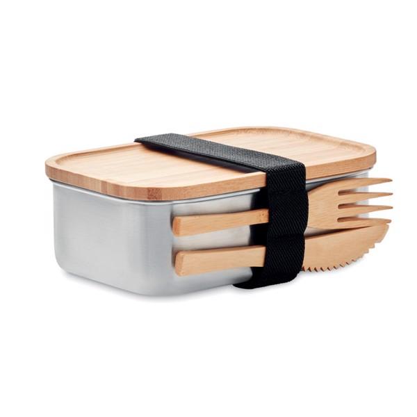 Stainless steel lunchbox 600ml Savanna