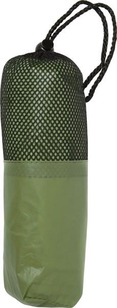 PEVA poncho - Olive Green