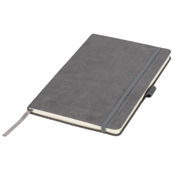 Carbony A5 suede notebook - Grey