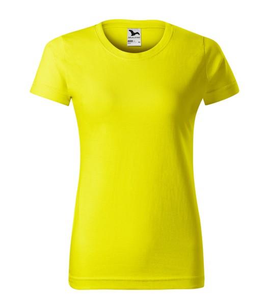 Tričko dámské Malfini Basic - Citronová / XS