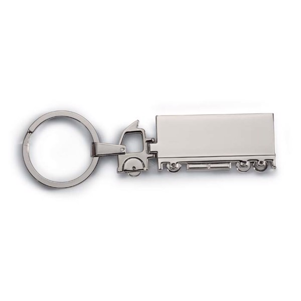 Truck metal key ring Trucky