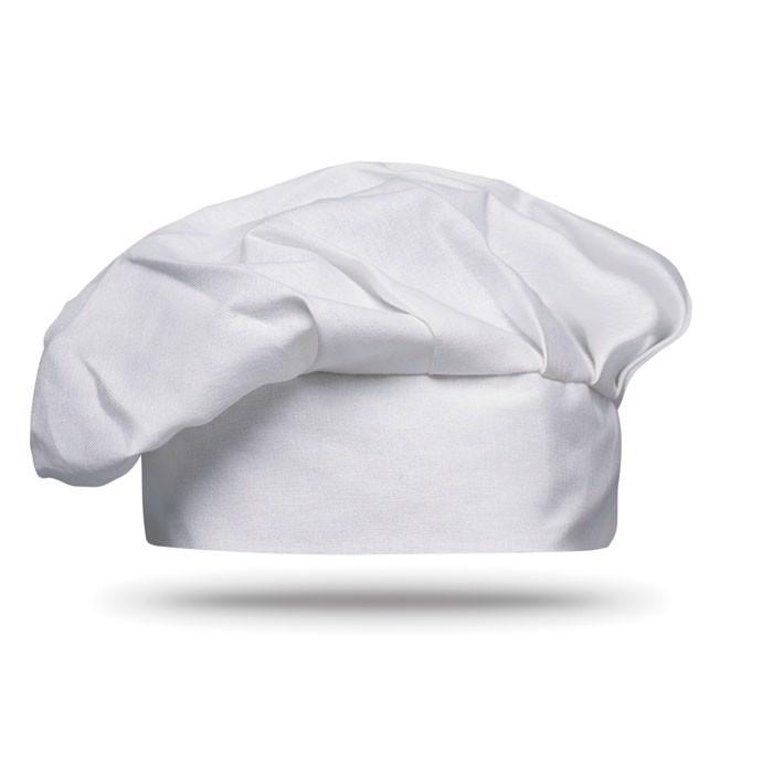 Bonetă chef 130 gr/m2 - white