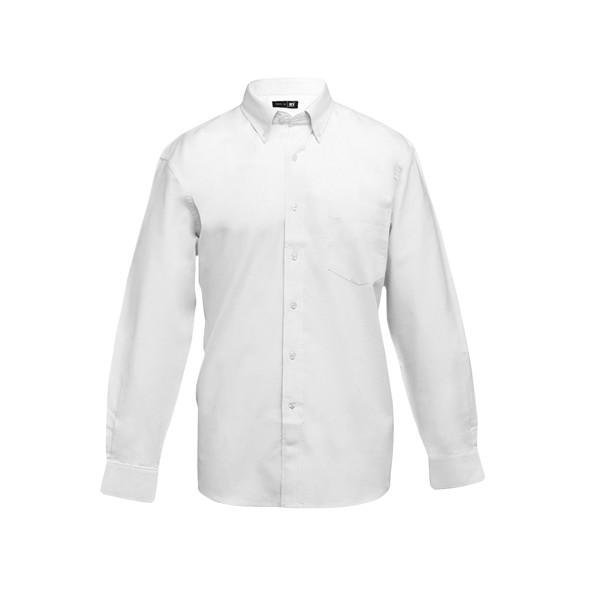 TOKYO. Ανδρικό πουκάμισο oxford - Λευκό / XXL
