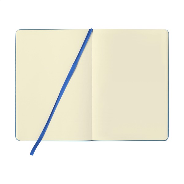 BudgetNote A5 Blanc - Light Blue