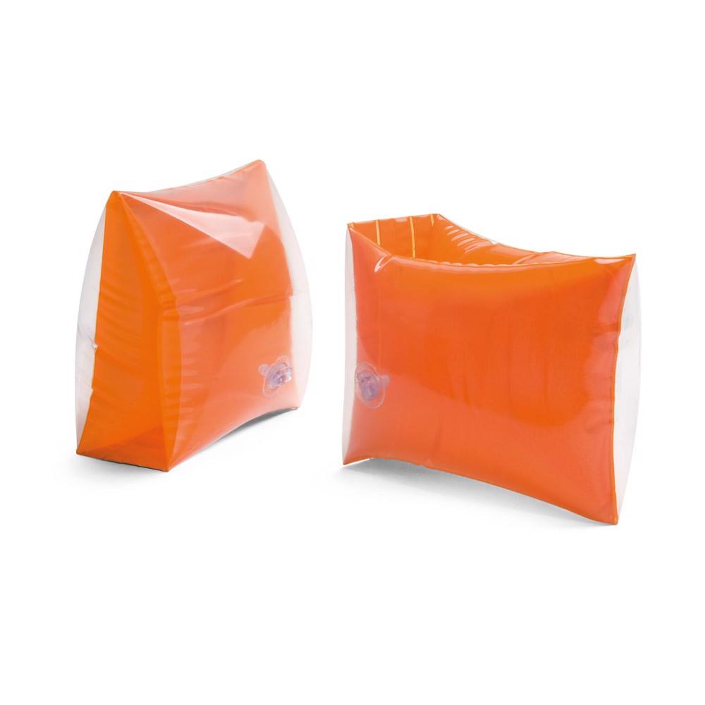 Nafukovací rukávky Průhledné/neprůhledné PVC - Oranžová
